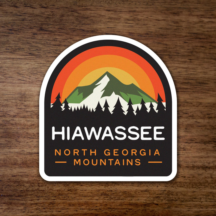Hiawassee Georgia Mountains Sticker