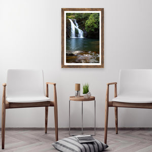 Blue Hole Falls Photo Art Print