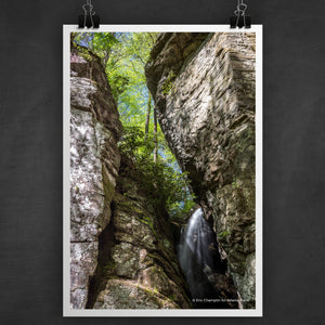 Raven Cliff Falls #2 Photo Art Print