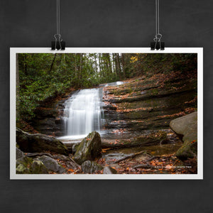 Long Creek Falls Photo Art Print