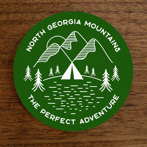 Trailful North Georgia Mountains Sticker