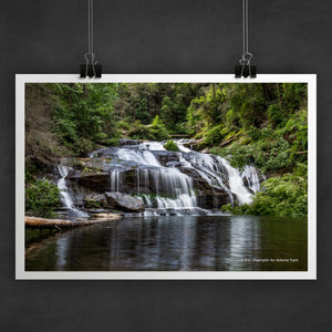 Panther Creek Falls Photo Art Print