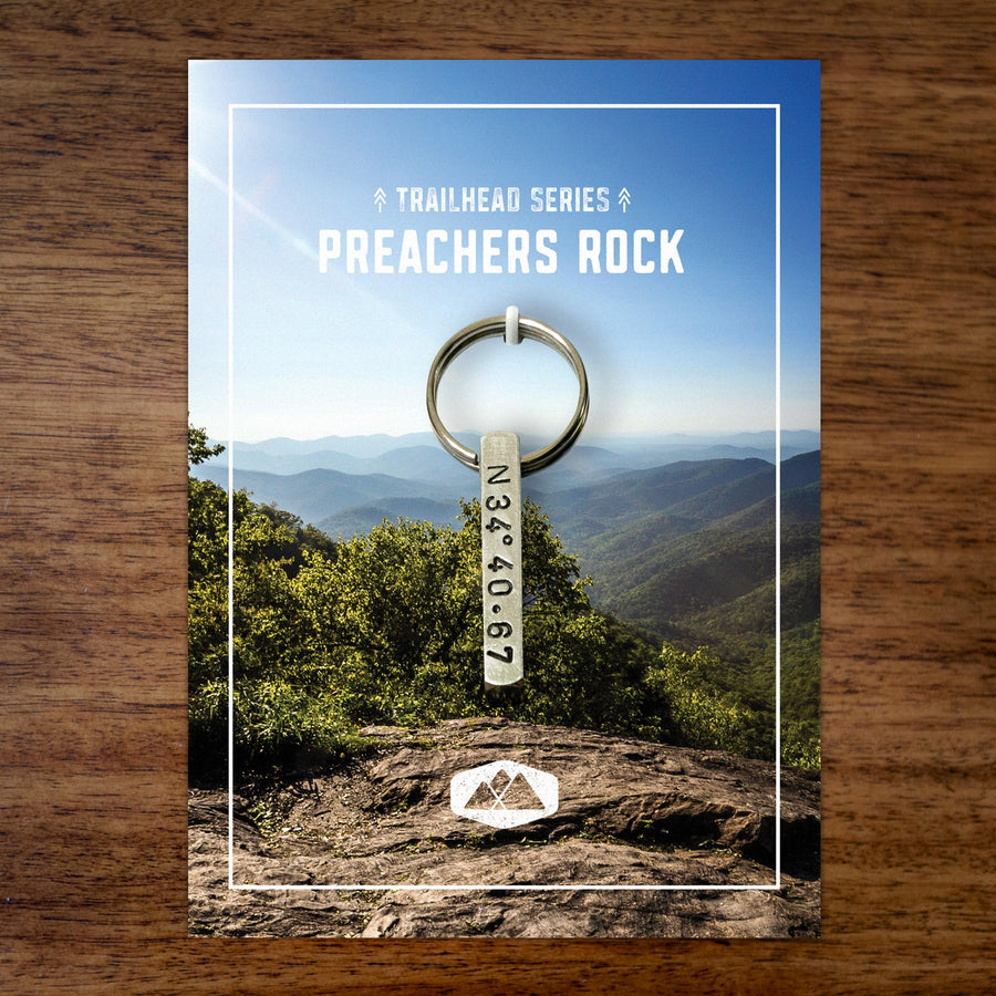 Preachers Rock Keychain
