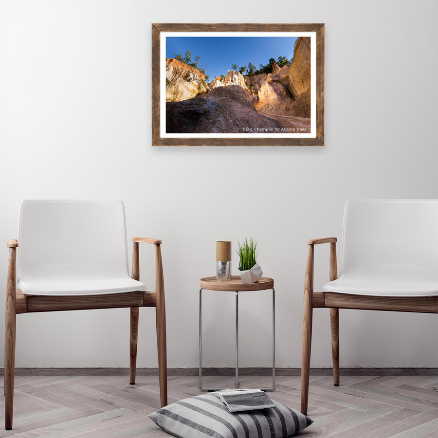 Providence Canyon Photo Art Print
