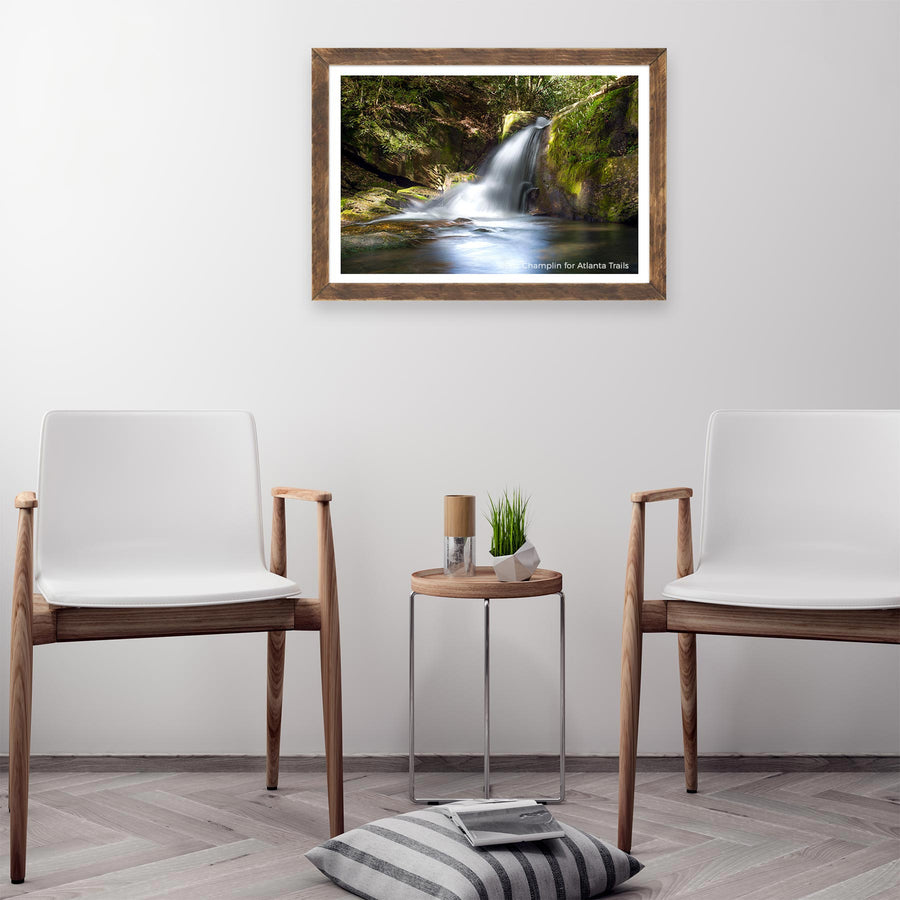 Raven Cliff Falls Photo Art Print