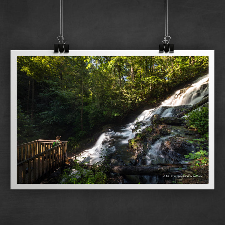 Vogel State Park Trahlyta Falls Photo Art Print