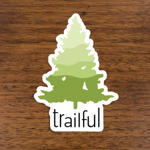 Trailful Southern Pine Sticker