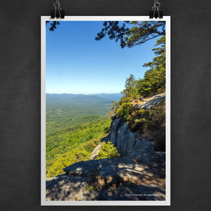 Yonah Mountain Summit Photo Art Print