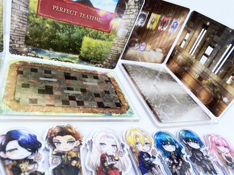 Fire Emblem 3 Houses Acrylic House Diorama Stand Separate Add-Ons