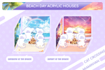 Beach Day Haikyuu Houses Acrylic House Diorama Stand Separate Add-Ons