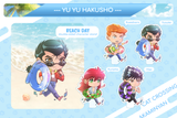 Beach Day Yu Yu Hakusho Acrylic House Diorama Stand Separate Add-Ons