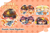 Fire Force Enen no Shouboutai Epoxy Key Chain Charms