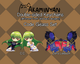 Code Geass Epoxy Key Chain Charms