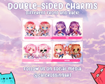 Doki Doki Literature Club Epoxy Key Chain Charms