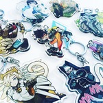 Overwatch Kitty Cat Key Chain Charms