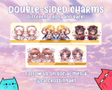 Food Fantasy Epoxy Key Chain Charms
