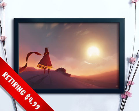 [RETIRING] Journey Fan Art Print