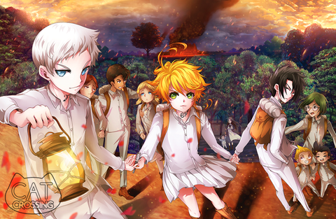 The Promised Neverland Fan Art Print