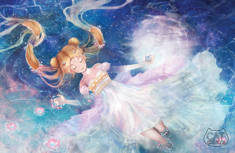 Sailor Moon Princess Serenity Fan Art Print
