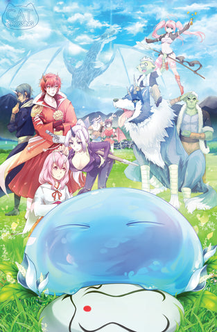 That Time I Got Reincarnated as a Slime Fan Art Print