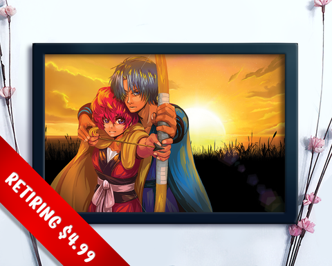 [RETIRING] Yona of the Dawn Fan Art Print