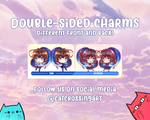 Kimi No Na Wa Your Name Epoxy Key Chain Charms