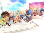 Beach Day Fire Emblem 3 Houses Acrylic House Diorama Stand Separate Add-Ons