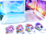 Beach Day Doki Doki Literature Club Acrylic House Diorama Stand Separate Add-Ons