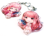 Shelter Rin Epoxy Key Chain Charm