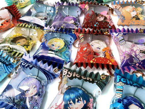 Fire Emblem 3 Houses Candy Bag Charms