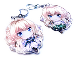 Violet Evergarden Epoxy Key Chain Charm