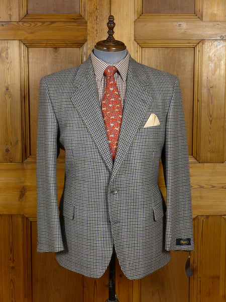 17/0238 new w/tags rrp £159 magee grey gun club check tweed sports jacket 46 short