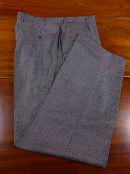 17/0271 (pt) immaculate modern austin reed grey pick weave 100% wool trouser 38 regular