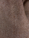 17/0394 (dc) vintage 1959 savile row bespoke brown twill tweed 3-piece suit 41 regular