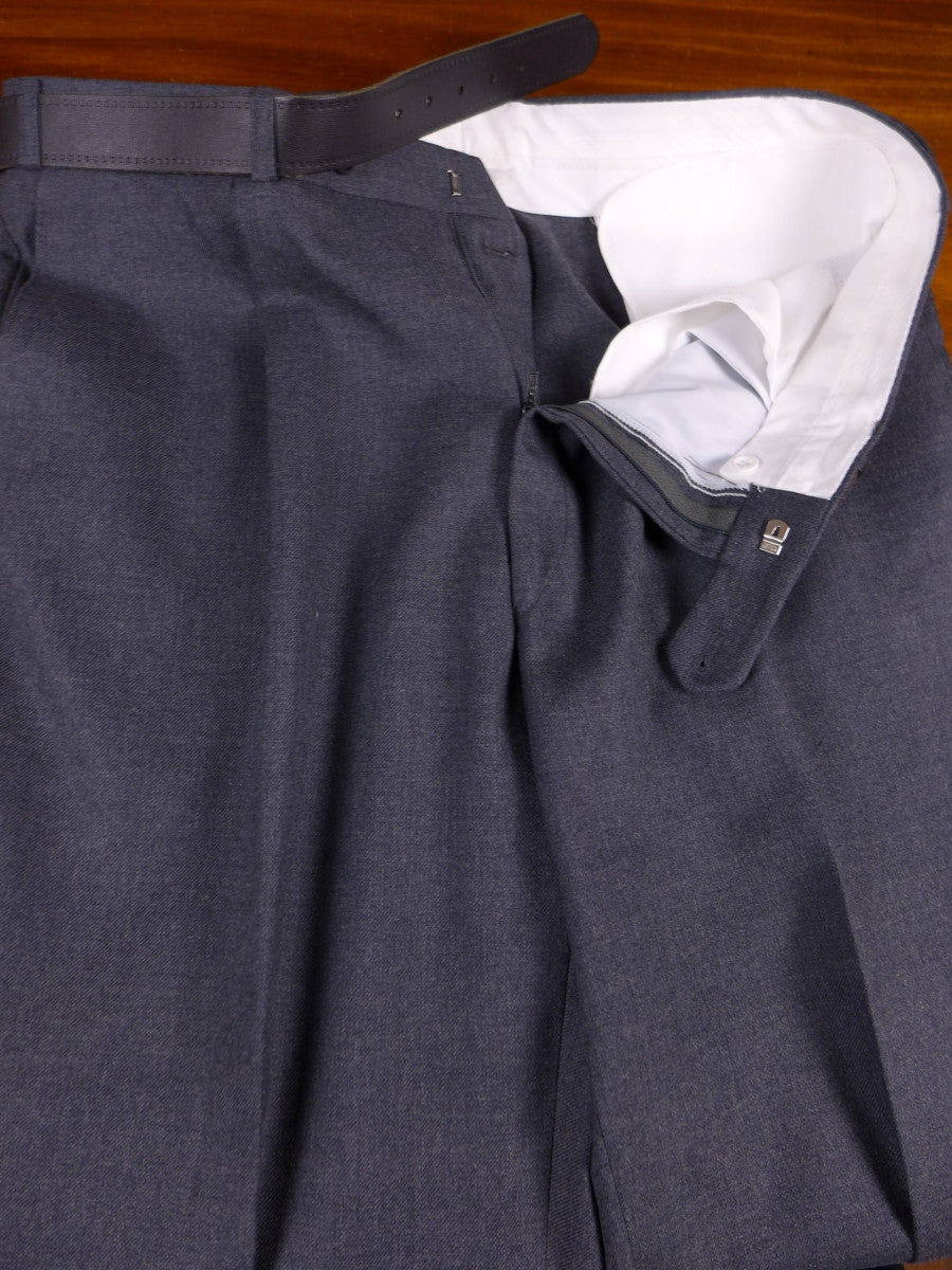 17/0400 new w/tags magee tailored wool mix grey trouser w/ belt 38 long
