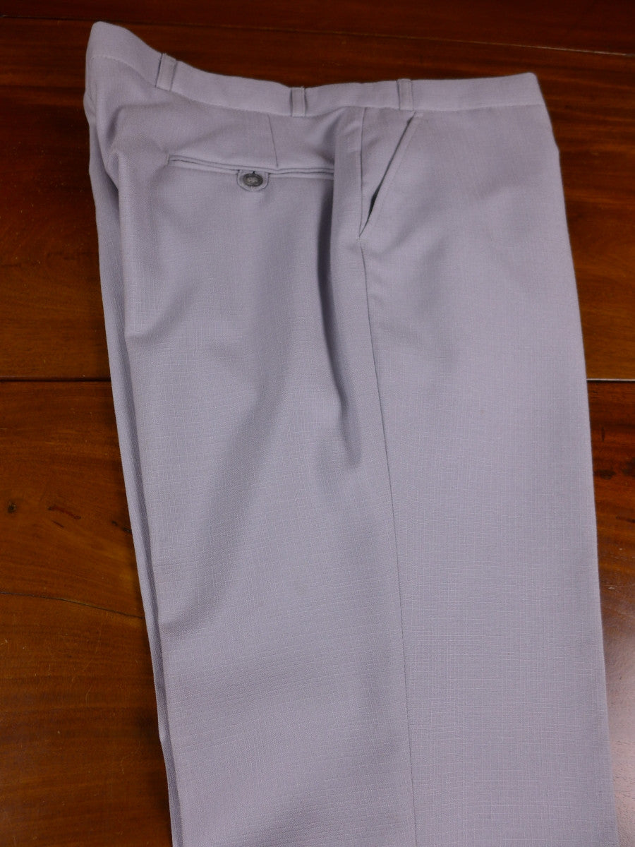 17/0403 deadstock unworn 1980s grey wool trouser 37 regular
