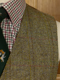 17/0531 immaculate tailored wp check tweed country waistcoat 38 regular