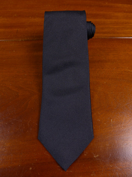 17/0673 immaculate thomas pink jermyn st black hand made silk tie