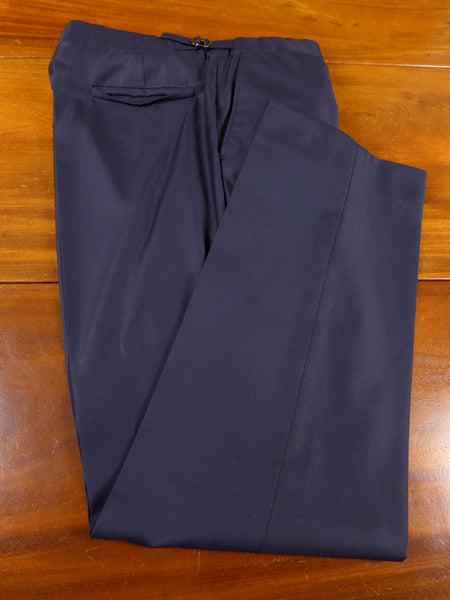 17/0896 richard james savile row navy blue wool trouser 36 short regular long