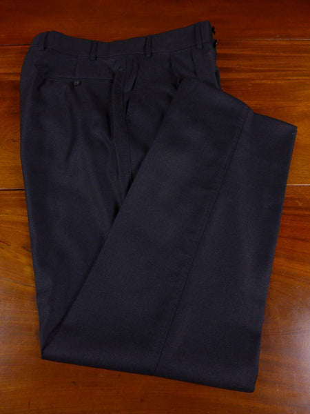17/0910 immaculate quality tailor grey worsted trouser 35 short regular long