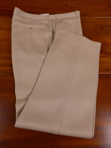 17/1010 deadstock unworn w/tags john g hardy wool mix beige cavalry twill trouser 34 short regular