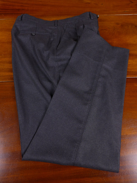 17/1106 santarelli sartoria luxury wool grey trouser 33 short regular long