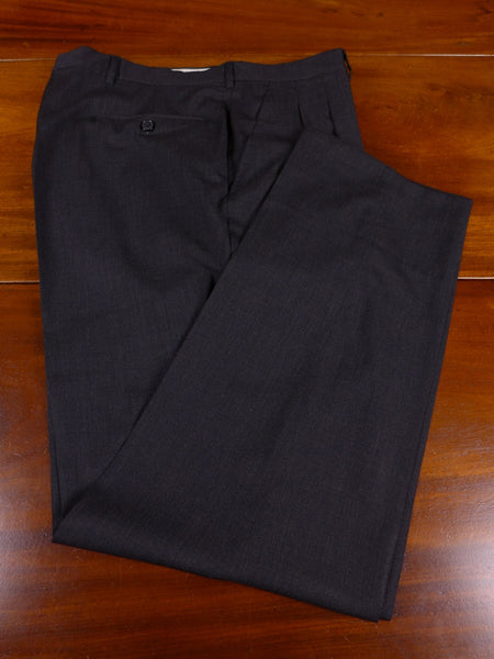 17/1110 santarelli sartoria luxury wool grey trouser 36 short regular long