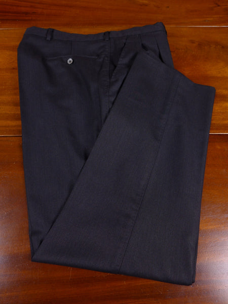 17/1112 santarelli sartoria luxury wool grey trouser 36 short regular long