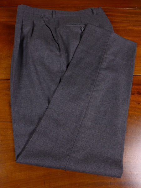 17/1125 santarelli sartoria luxury wool grey trouser 33 short regular long