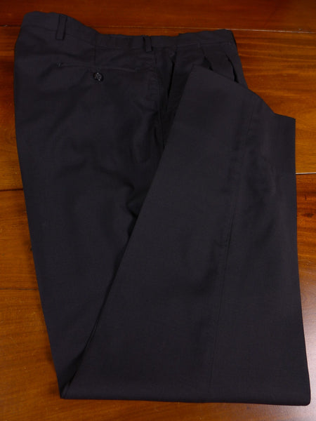 17/1134 santarelli sartoria loro piana luxury wool & mohair black trouser 36 short regular long