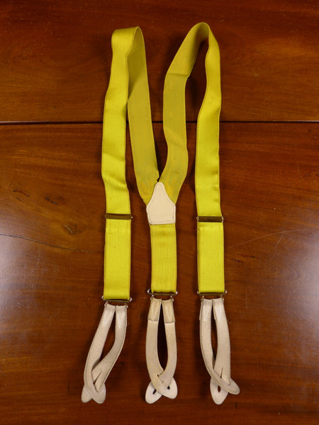 17/1614 vintage canary yellow braces for goodwood revival multifit