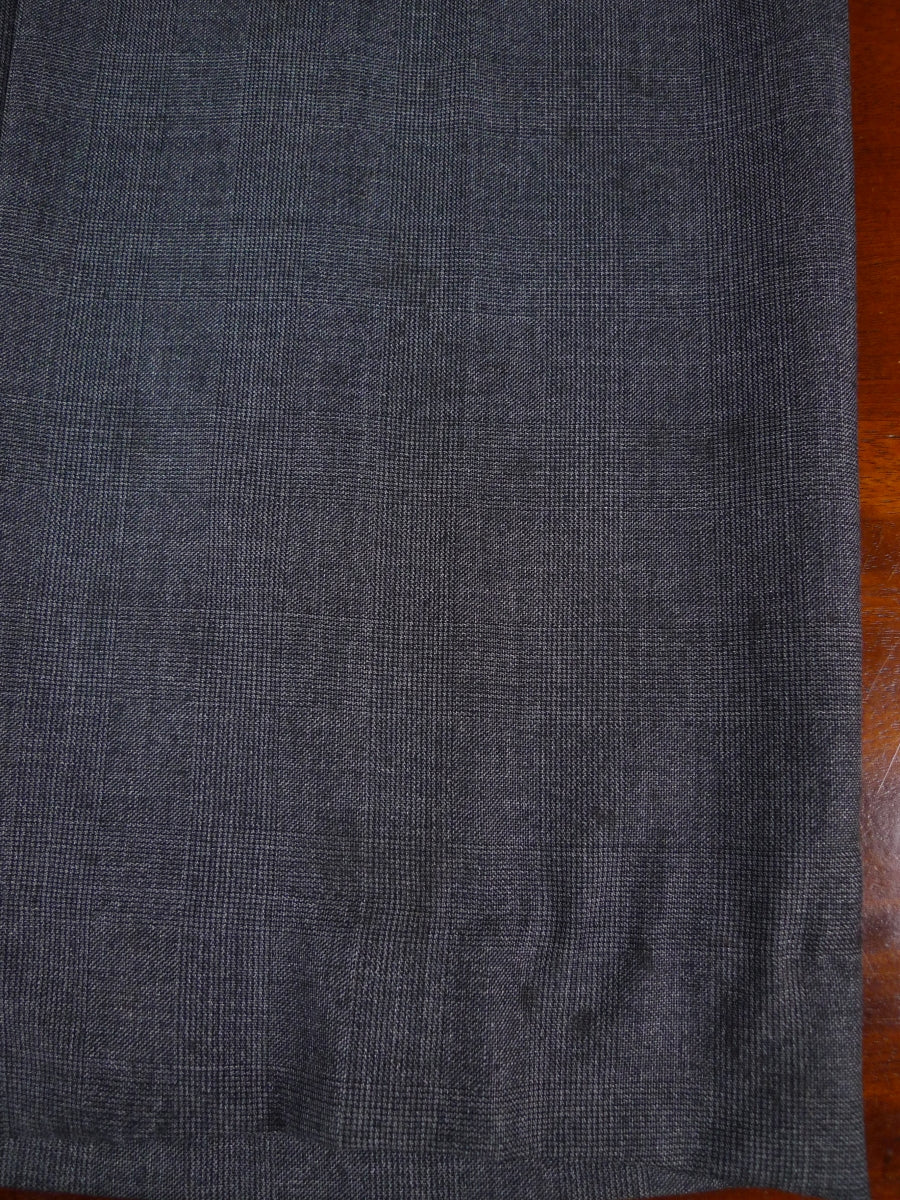 17/1891 hackett london grey glen check super 110s luxury wool suit 35 regular