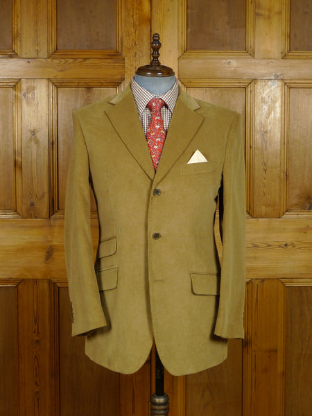 17/2082 (pt) near immaculate austin reed beige corduroy sports jacket blazer 42 regular
