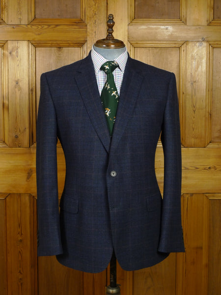 18/0185 immaculate modern gieves & hawkes savile row luxury wool sports jacket blazer 43 regular